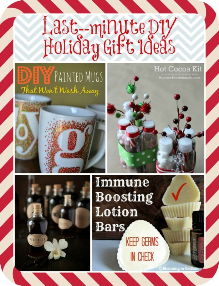 Scrambling to put the finishing touches on your holiday gift list? Try out these last-minute DIY Holiday Gift Ideas| www.linkouture.com