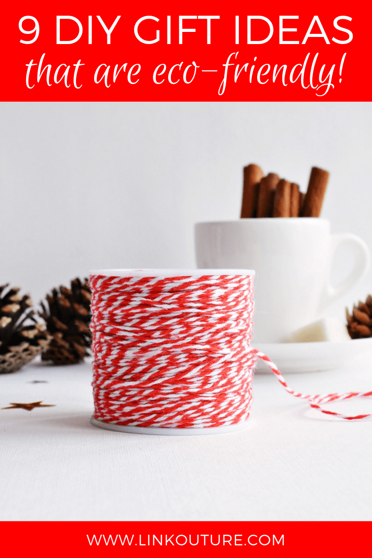 Get inspired by these DIY eco-friendly gift ideas!
