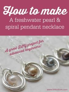 Mobius necklace tutorial