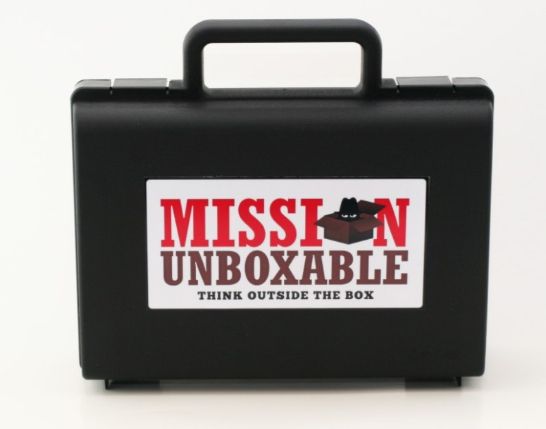 Mission Unboxable takes creativity, science and imagination to a whole new level!