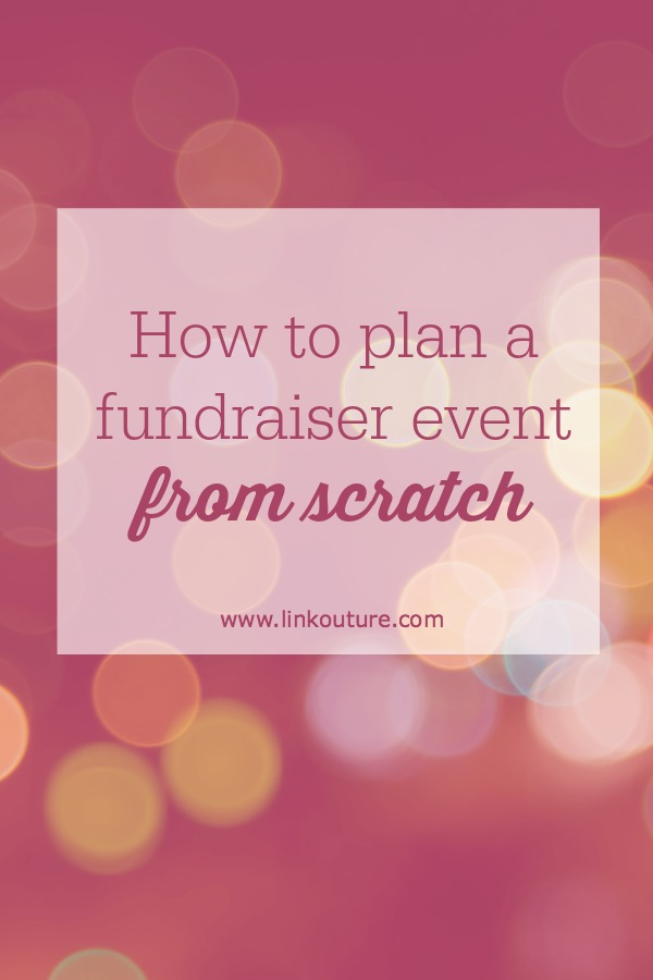 Planning a fundraiser event from scratch can be a overwhelming, but with these tips you will learn what you need to know to plan a kick-ass event that will help raise money and awareness for your cause!