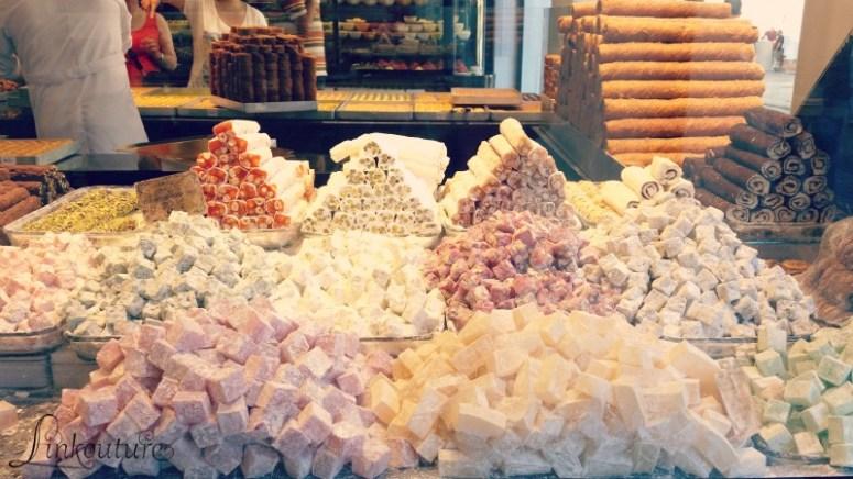 Turkish delight in Istanbul, Turkey