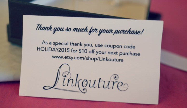 How to make beautiful thank you coupons for your small business reheart Images