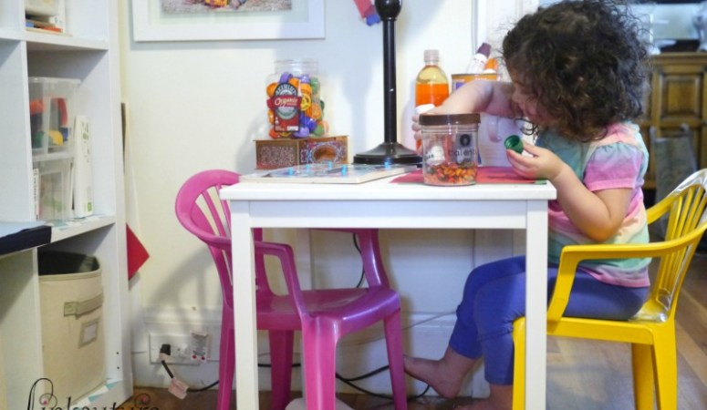How I made a toddler-friendly creativity corner for less than $40