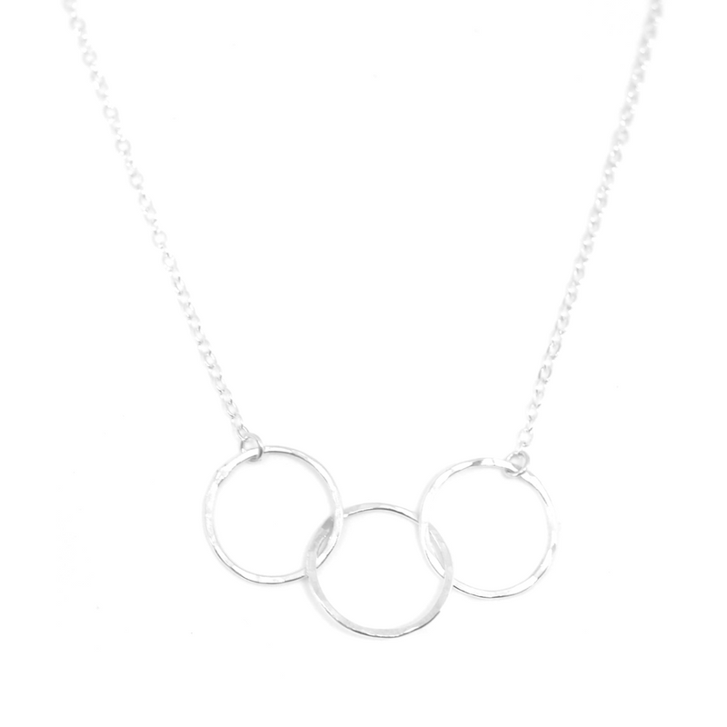 engrave tr triple silver necklace with en silvexcraft rings