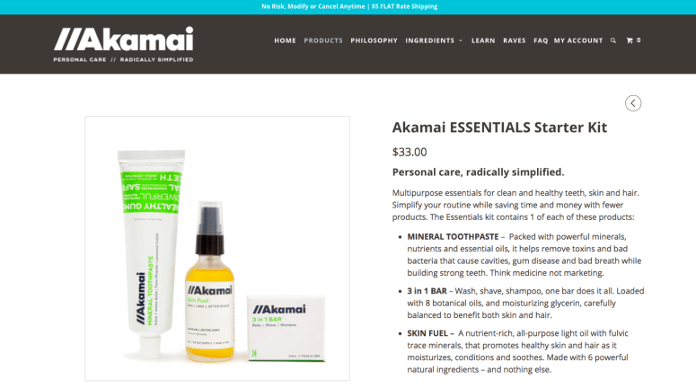 Akamai essentials starter kit