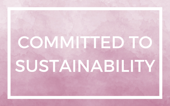 Commitment to sustainability