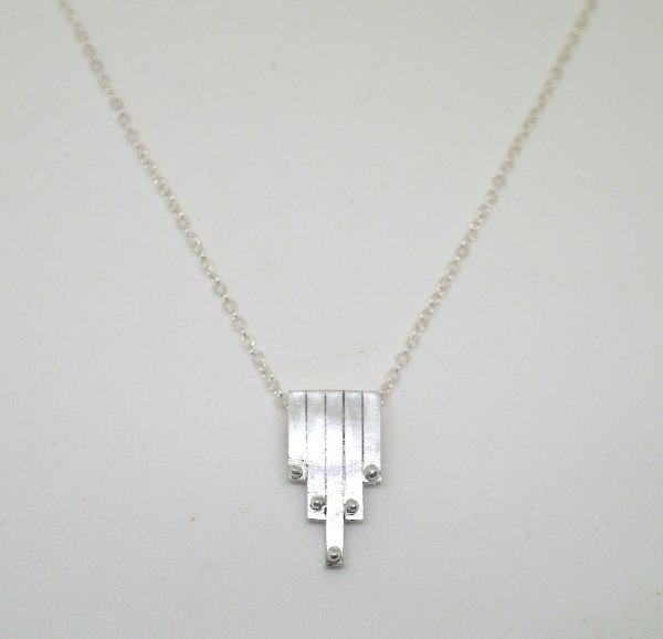 necklace with five bars