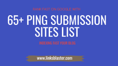 ping submission sites list 2021