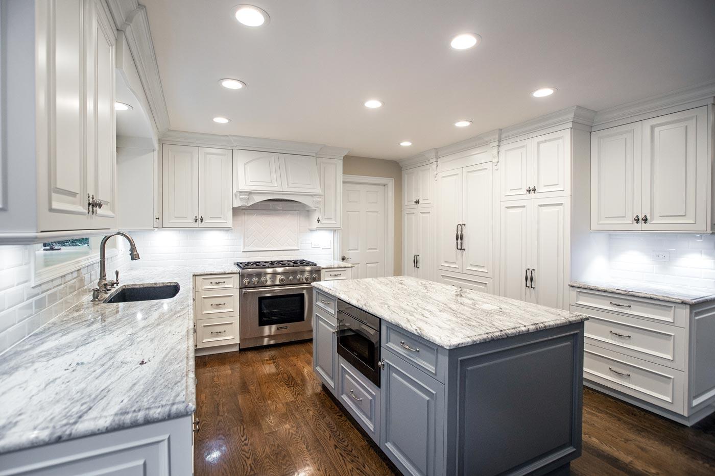 custom kitchen remodel - linly designs