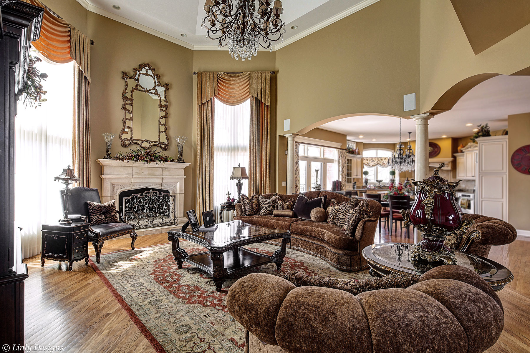 Living And Family Room Design Linly Designs