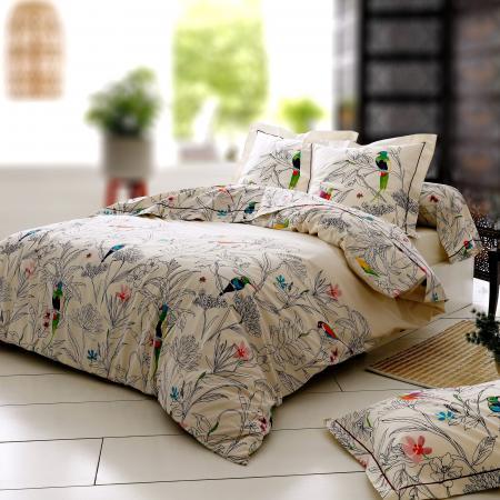 Housse De Couette 280x240 Cm 100 Coton Amazonia Ecru Linnea Linge De Maison Et