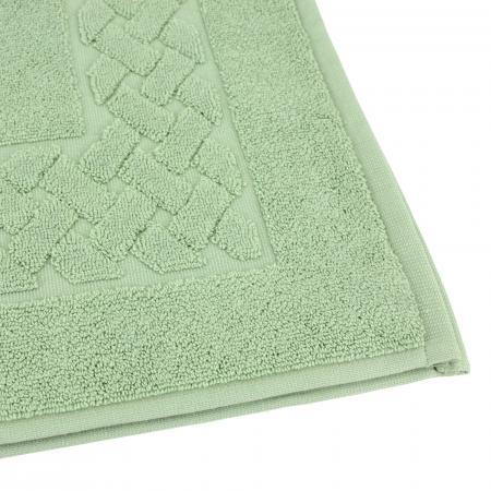 tapis de bain 50x80 cm royal cresent vert celadon 850 g m2
