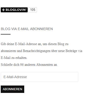Benutzerfreundlicher Blog