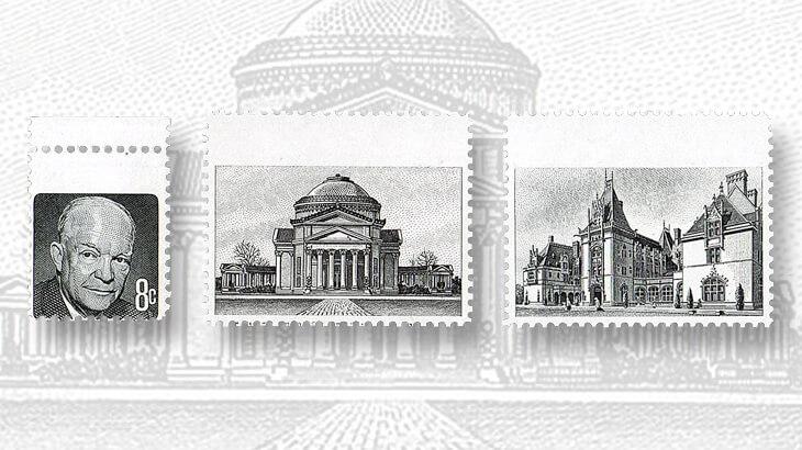 Stamp 8 Cent Eisenhower
