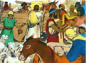 Los esclavos Hebreos son remunerados por 400 años de trabajo forzado sin paga