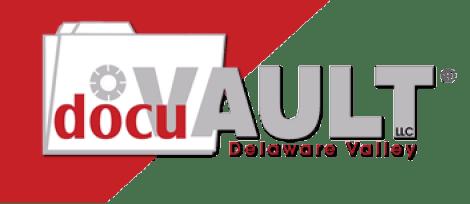 The DocuVault company logo