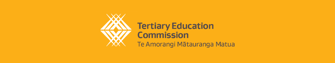 The organisation logo for the New Zealand Tertiary Education Commission