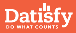 The logo for Datisfy - a LINQ Partner