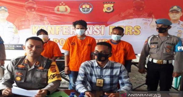 Nih Penampakan 1 Muncikari dan 2 Pria Hidung Belang di Pidie, Tak Berkutik Saat Dijemput Polisi