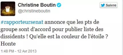 tweet ã©toile boutin