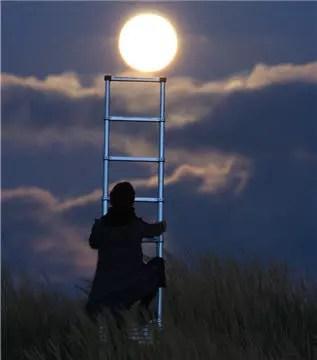 atteindre la lune