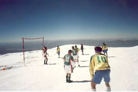 mount sajama football match