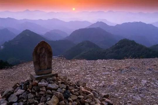 chemin de pélerinage sur les monts kii