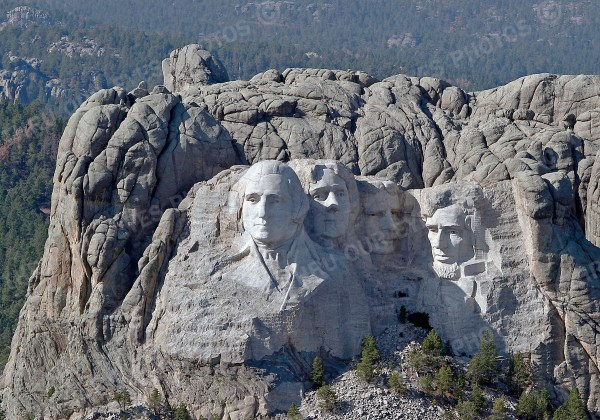Mount Rushmore Aerial Photography - Linton Wildlife Photography