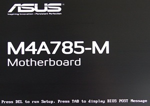 Bios-screen
