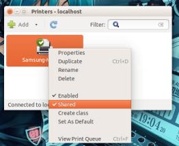 Printers beheren in GNU/Linux (afbeelding van Linux.com)