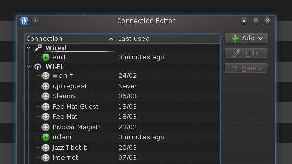 KDE: Nuevo applet para gestionar las conexiones