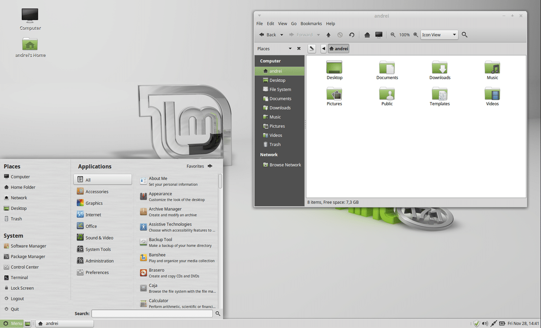 Linux Mint 17 1 'REBECCA' Available For Download