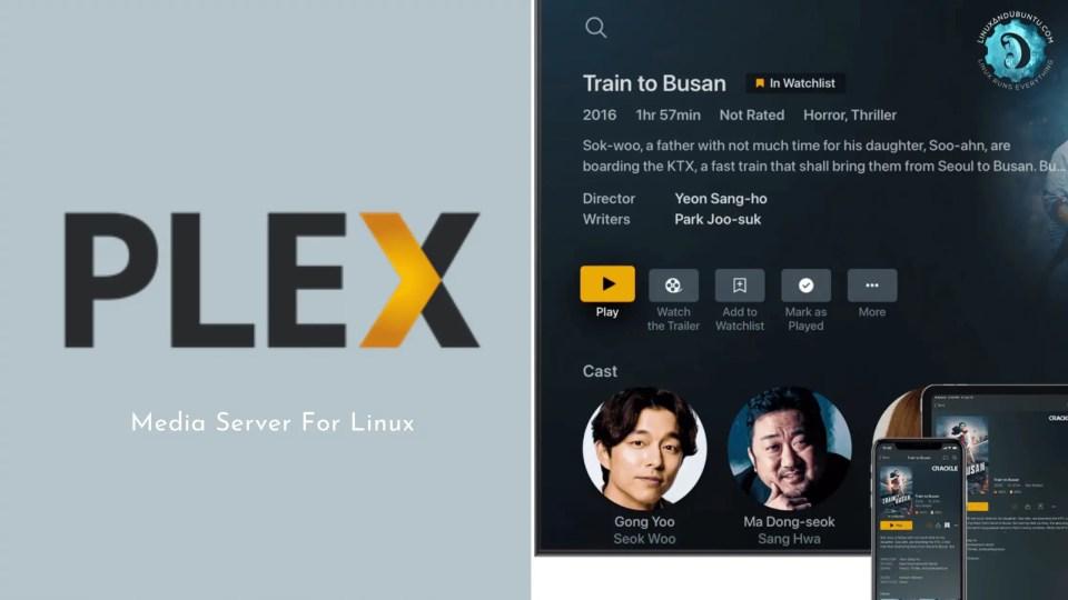 Plex media server for Linux