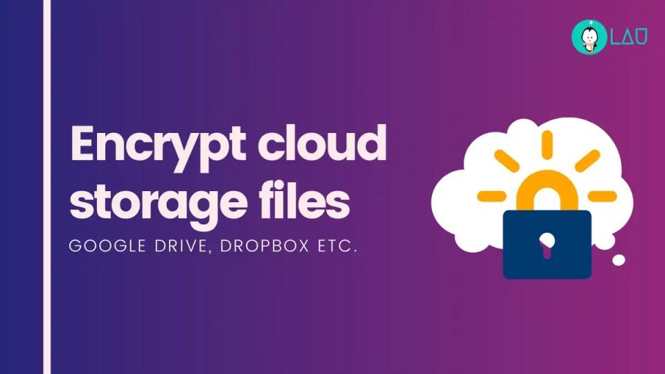 encrypt cloud files in linux