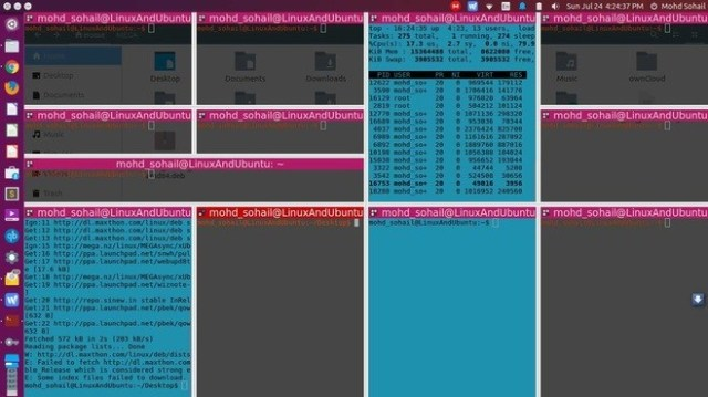 10 Best Linux Terminal Emulators For Ubuntu And Fedora - LinuxAndUbuntu