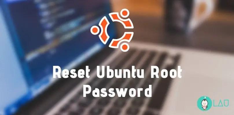 reset ubuntu root password