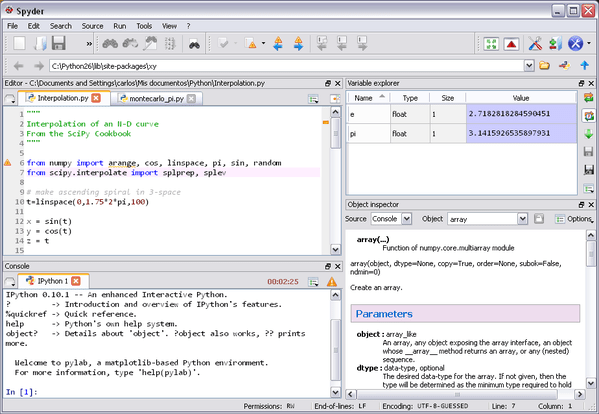 spyder python ide for linux
