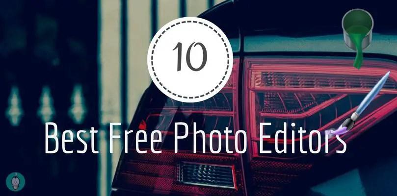 10 best free photo editors