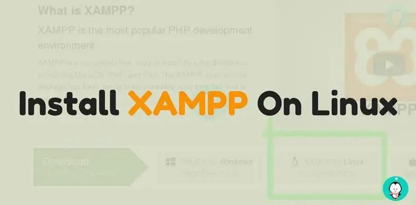 download xampp in linux