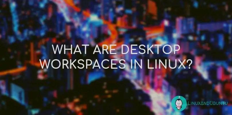 linux desktop workspaces
