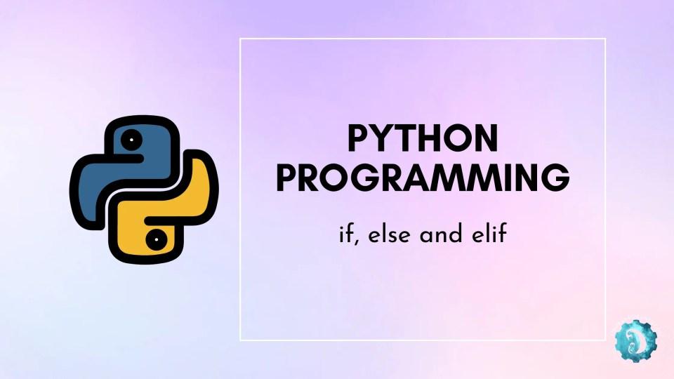 Python Programming conditions