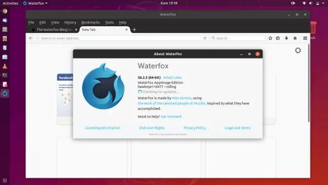 waterfox on ubuntu