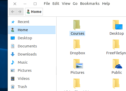 Ubuntu windows explorer like nautilus