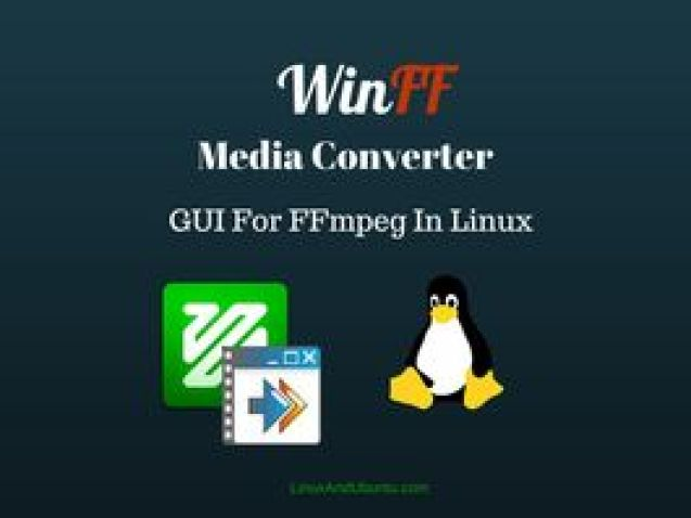 WinFF Converter FFmpeg GUI [How To Install & Use In Ubuntu Linux Or