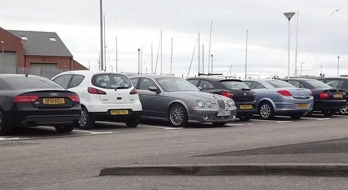 car parking decision bash script