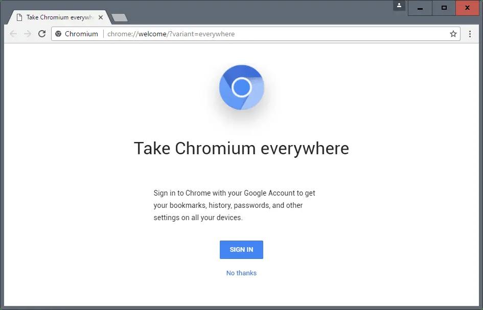 chromium browser open source