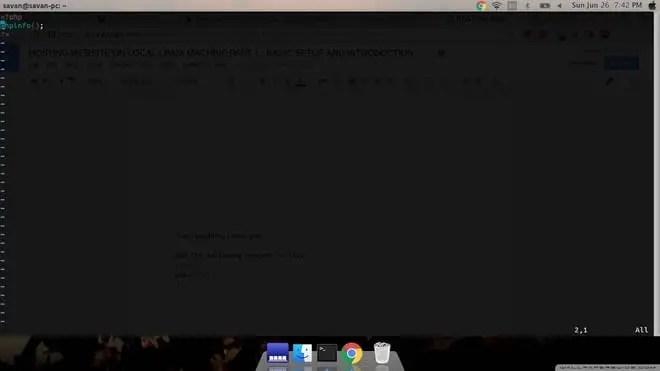 create php file in /var/www/html