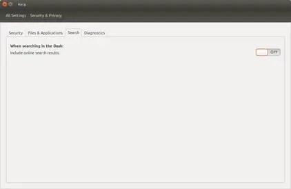 disable online search in ubuntu 15.04 vivid vervet