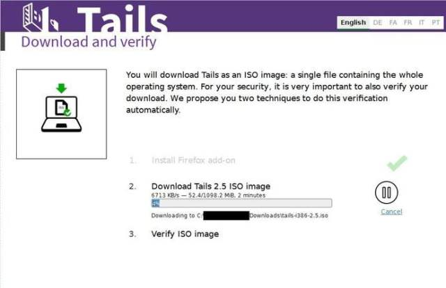 download tails browse anonymously